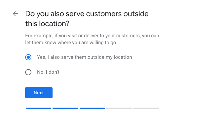 Add a Service Area to Google My Business